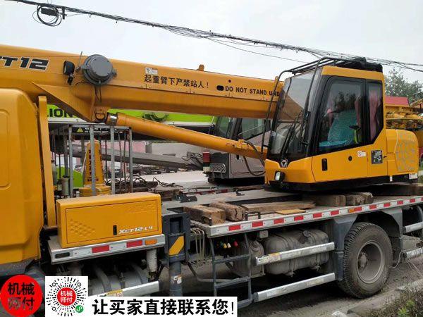 2019年徐工12吨吊车